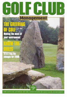 The Greening of Golf